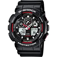 GSHOCK mens Automatic Watch, analog-digital Display and Resin Strap GA100-1A4