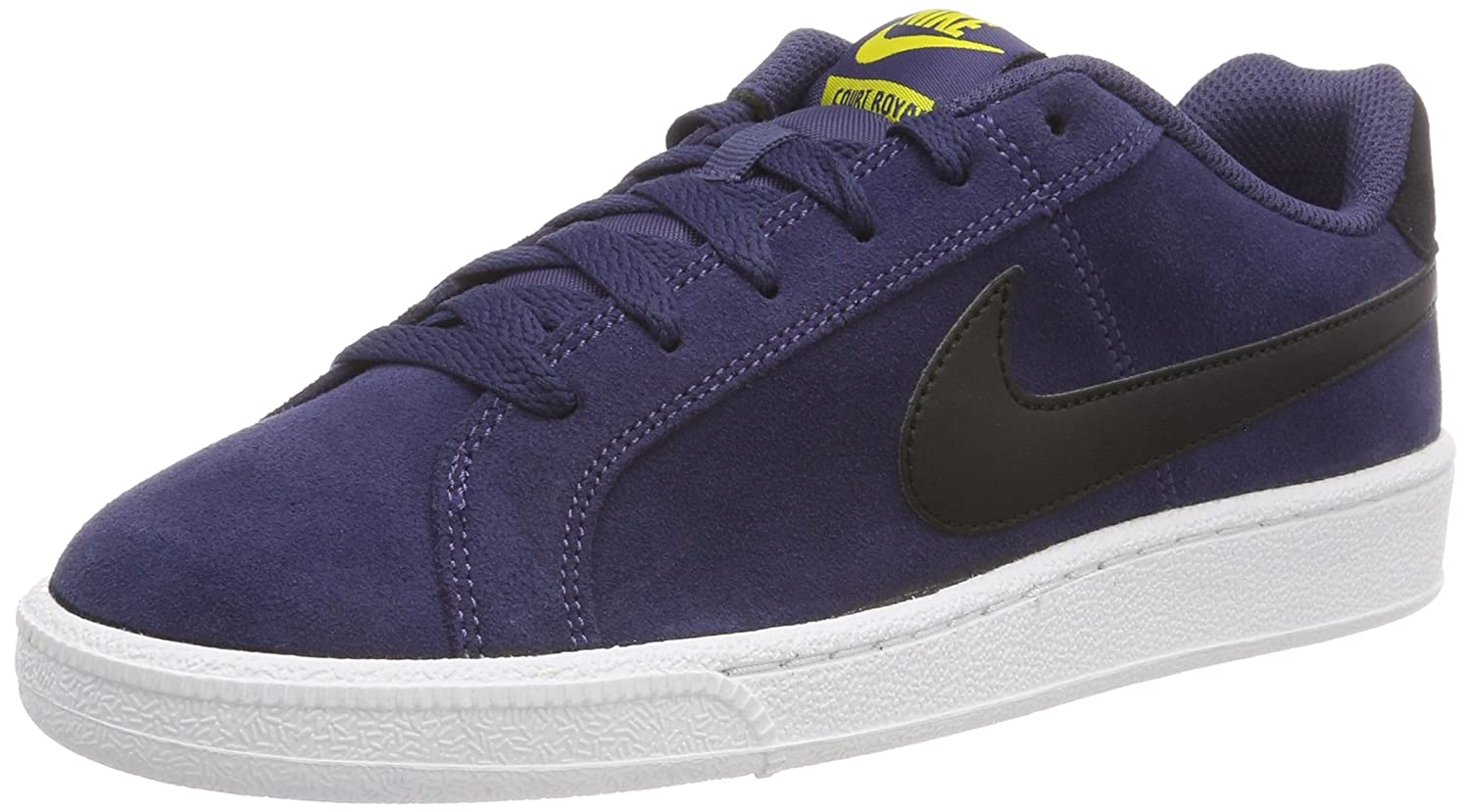Nike Herren Court Royale Suede Gymnastikschuhe  44.5 EU|Blau (Neutral Indigo/Nero/Tour Yellow 500)