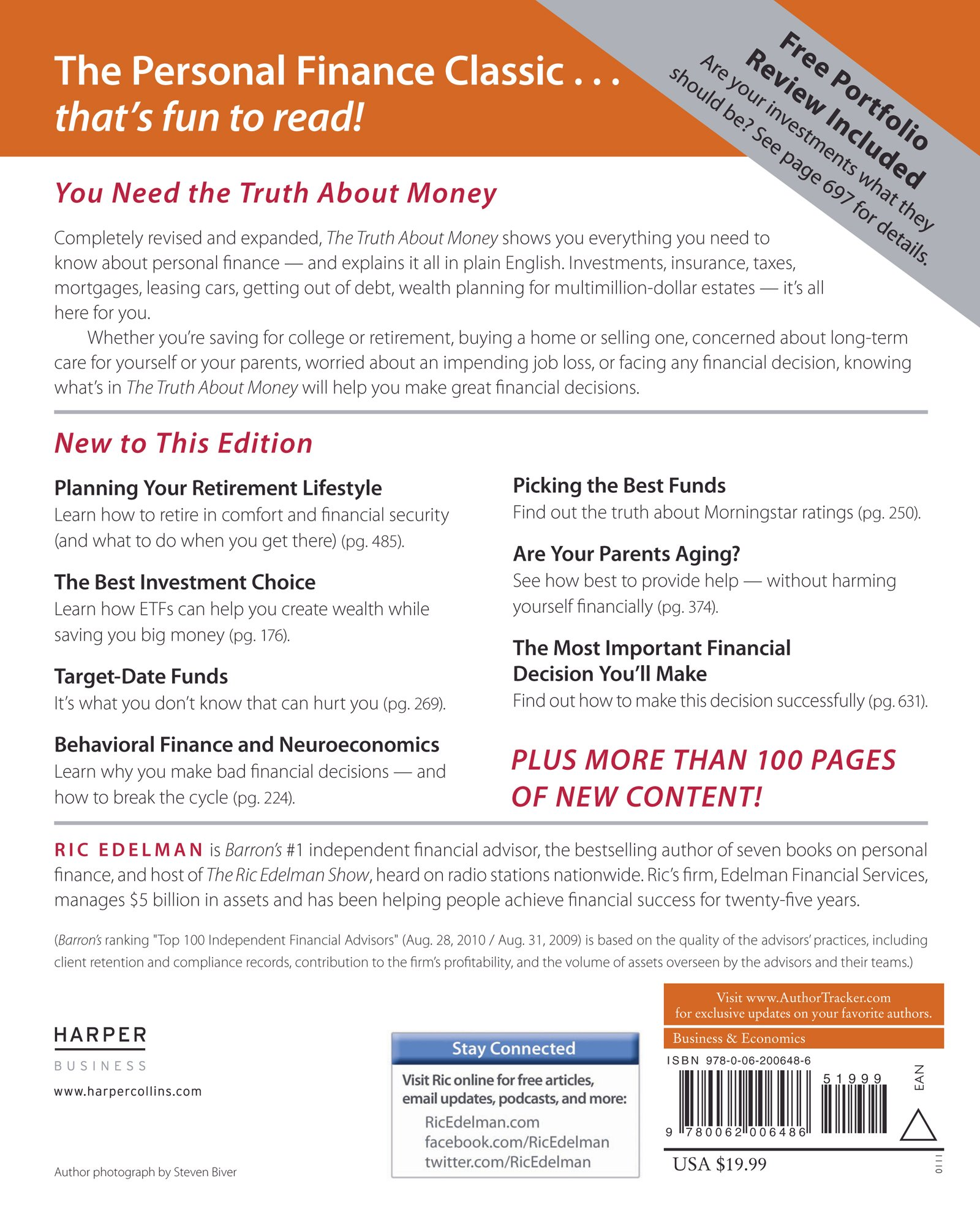 The truth about money 4th edition ric edelman 9780062006486 the truth about money 4th edition ric edelman 9780062006486 amazon books fandeluxe Gallery