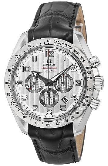 wholesale dealer 9a82a 692b5 [オメガ] 腕時計 スピードマスター ブロードアロー シルバー文字盤 コーアクシャル自動巻 クロノグラフ 100M防水  321.13.44.50.02.001 並行輸入品 ブラック