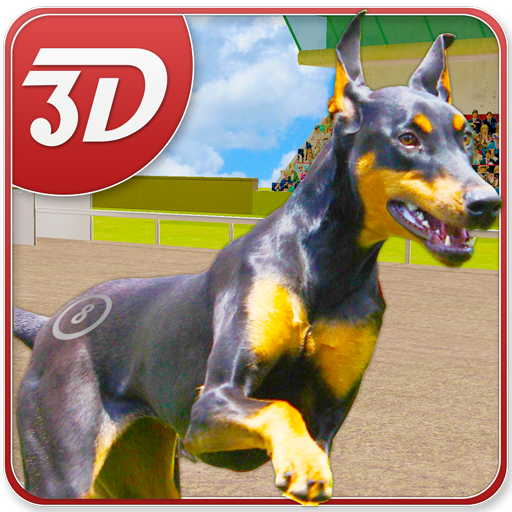 Dog Racing Simulator 3D