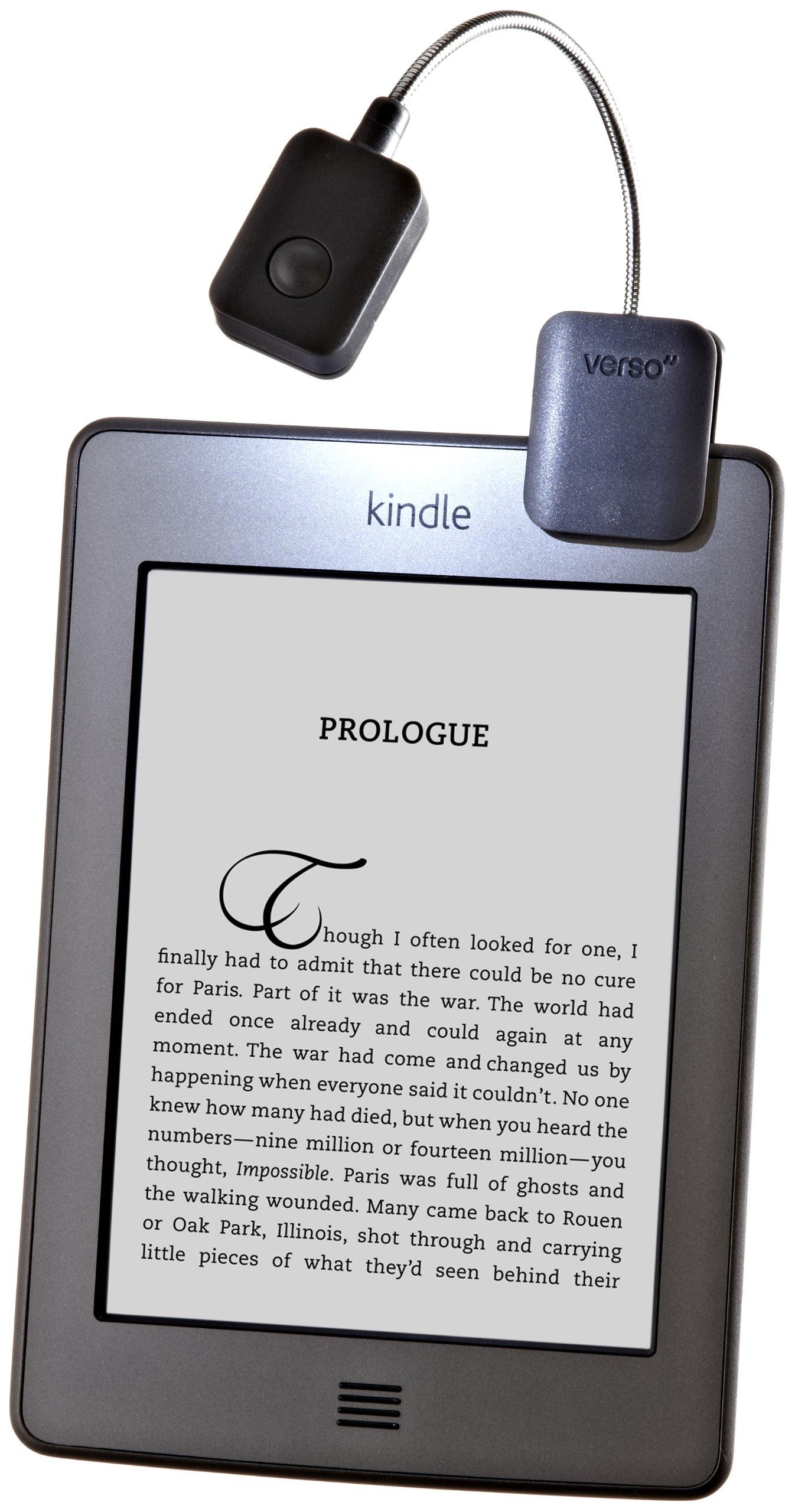 Verso Clip Light for E-Readers, Black