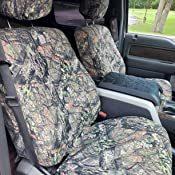 SSC7478CAMB Break-Up Country Duck Weave Covercraft Carhartt Mossy Oak Camo SeatSaver Second Row Custom Fit Seat Cover for Select Ford Explorer Models