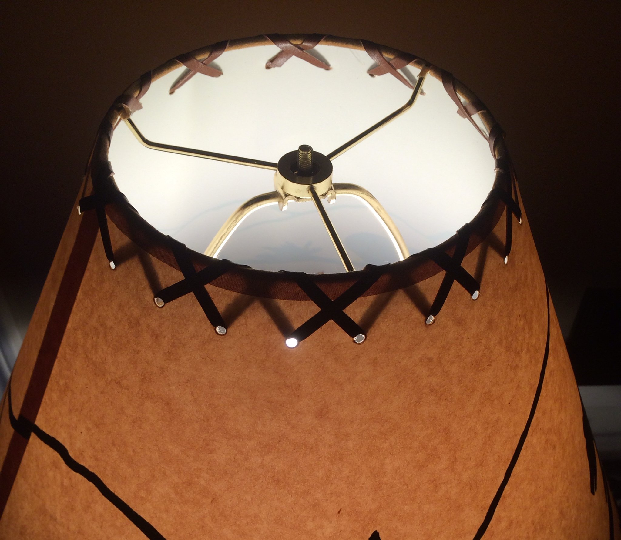 18 Inch Moose Rustic Lamp Shade.Click on Photos to View Sizing and Style Options!
