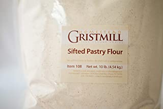 product image for Homestead Gristmill — Non-GMO, Chemical-Free, All-Natural, Stone-ground Sifted Pastry Flour (10 lb), Artisanally Milled from Soft White Wheat Berries
