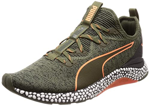 c0276edee21e9 Puma Men s Hybrid Runner Unrest Forest Night-Firecracker Running Shoes-11  UK India