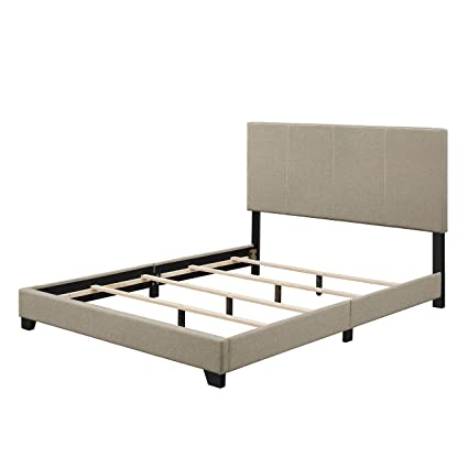 Amazon Com Upholstered Queen Size Bedroom Adjustable Height