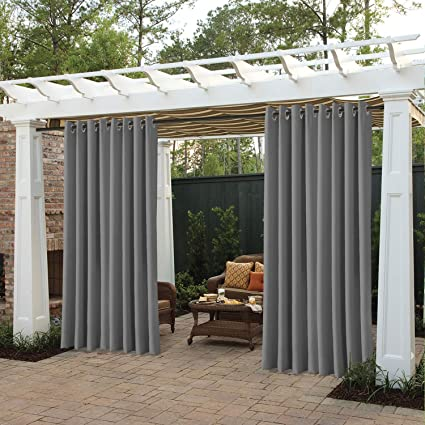 Merveilleux Cololeaf Porch Curtains Outdoor Waterproof Patio Garden Outdoor  Curtain/Exterior Shades/Blinds  Grommet