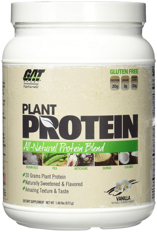 GAT Plant Protein, Vanilla, 1.48 lbs
