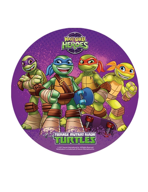 Ninja Turtles - oblea comestible para decoración de tartas ...