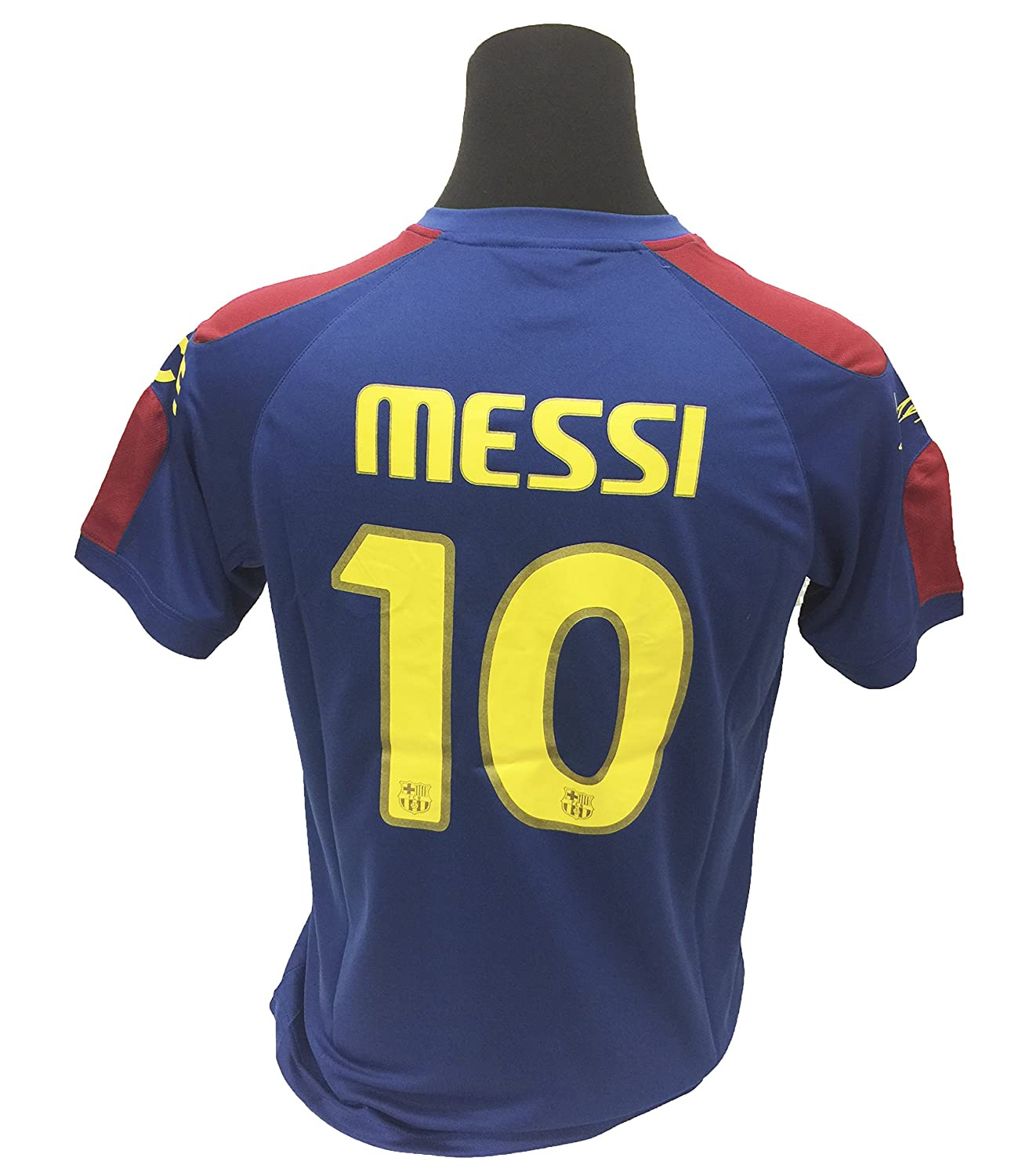 977bf251f Amazon.com  Lionel Messi Jersey  10 -(Adults) Barcelona Official Product  Jersey with The Signature