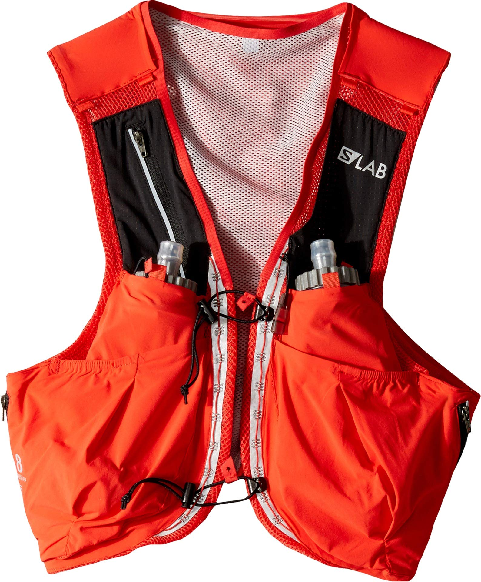 a77a8af765d Salomon Unisex S/Lab Sense Ultra 8 Set Hydration Vest, Racing Red, Medium