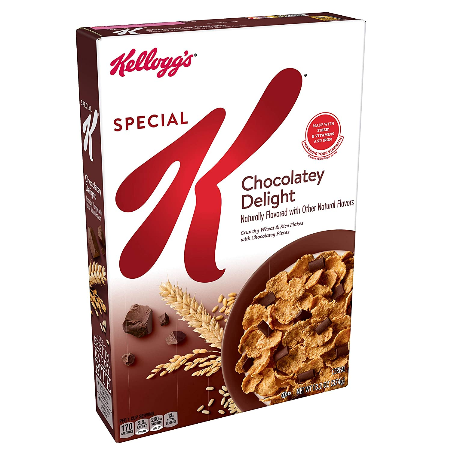 Special K Breakfast Cereal, Chocolatey Delight, 13.2 Ounce