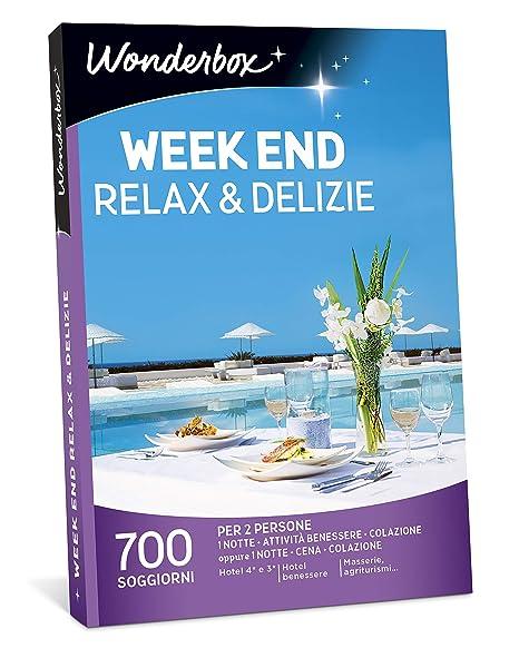WONDERBOX Cofanetto Regalo - Week End Relax & DELIZIE - 700 ...