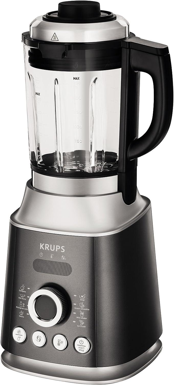 Krups KB852E Batidora de vaso 2L 1300W Negro, Plata - Licuadora (2 ...