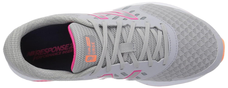 New Balance Women's Urgev2 Running Shoe B01MYPGSO4 9.5 B(M) US|Silver Mink/Alpha Pink