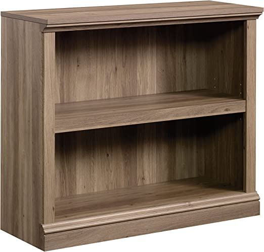 Sauder Select 2 Shelf Bookcase in Salt Oak