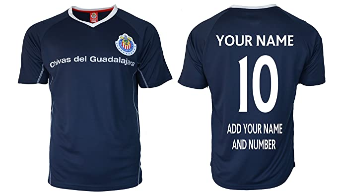 Name Training Jersey Soccer Rhinoxgruop Customized Chivas Fmf Performance Any