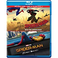 Spider-Man 2 Movies Collection - Spider-Man: Into the Spider-Verse + Spider-Man: Homecoming
