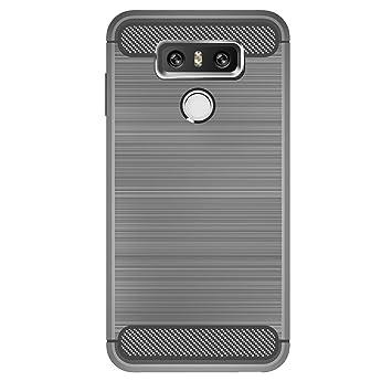 IVSO LG G6 Funda Case Slim Armor Silicio Cover Funda Protectora ...