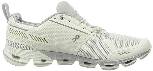 On Running Damen Cloudflyer White/Crystal W 6 Laufschuhe, Weiß (White/Crystal), 37 EU