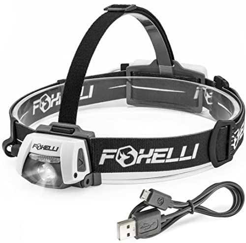 Foxelli Headlamp Flashlight review