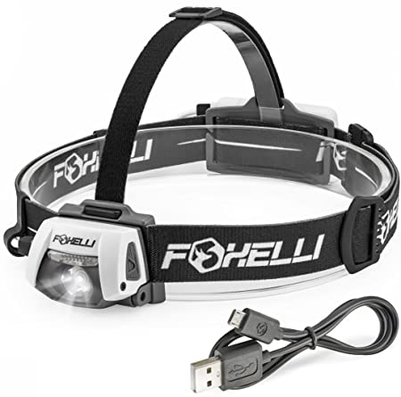 Review Foxelli USB Rechargeable Headlamp
