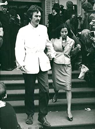 Amazon.com: Vintage photo of George Harrison with his wife ...
