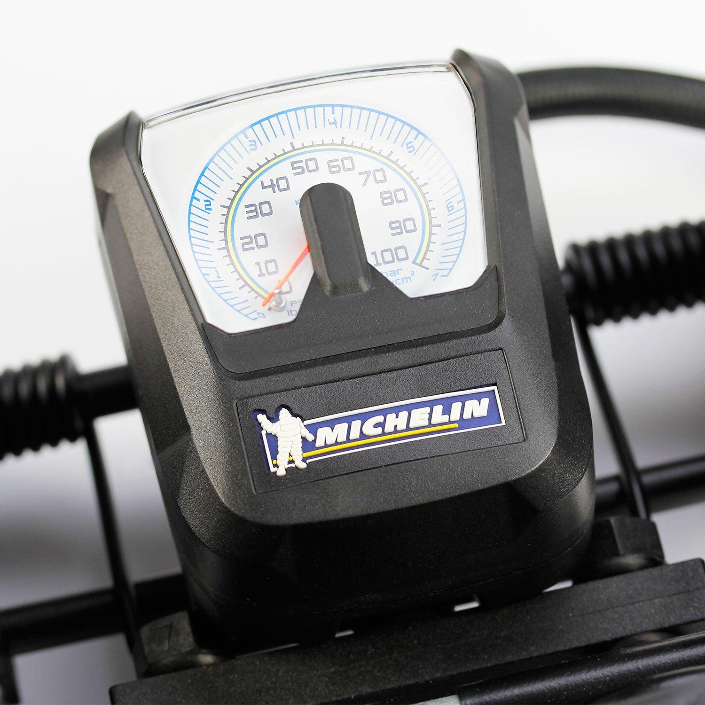 1 Zylinder mit Manometer Michelin 92418 Fu/ßluftpumpe
