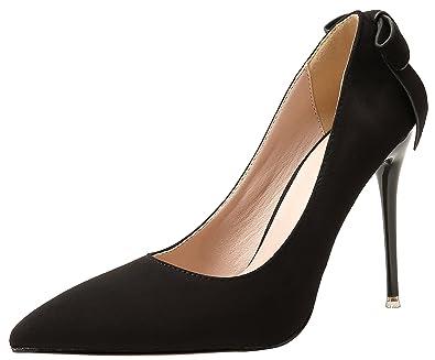 79ccf261326b5 Amazon.com   Big Tree Bigtree Wedding Shoes for Women Suede High ...