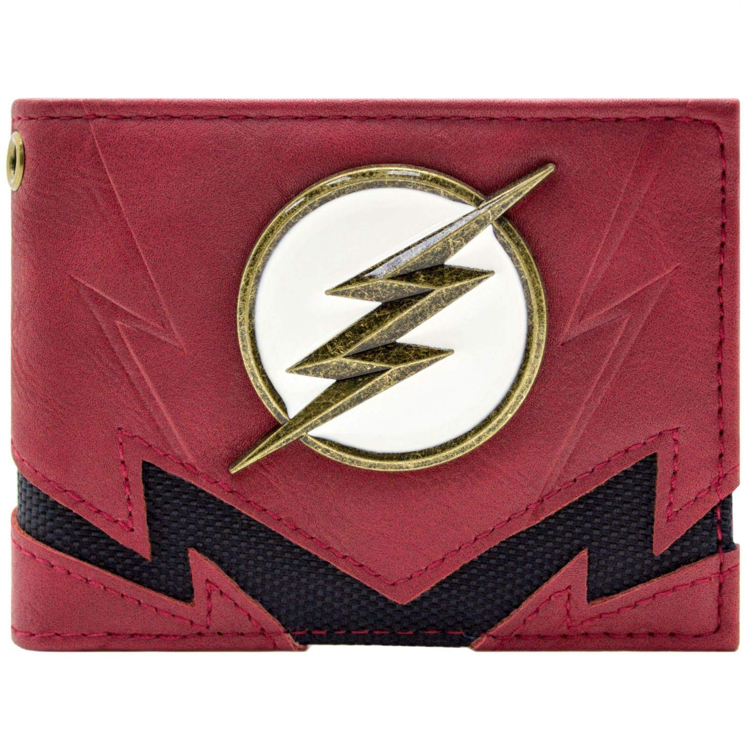 Flash The Fastest Man Alive Or Badge Rouge Portefeuille