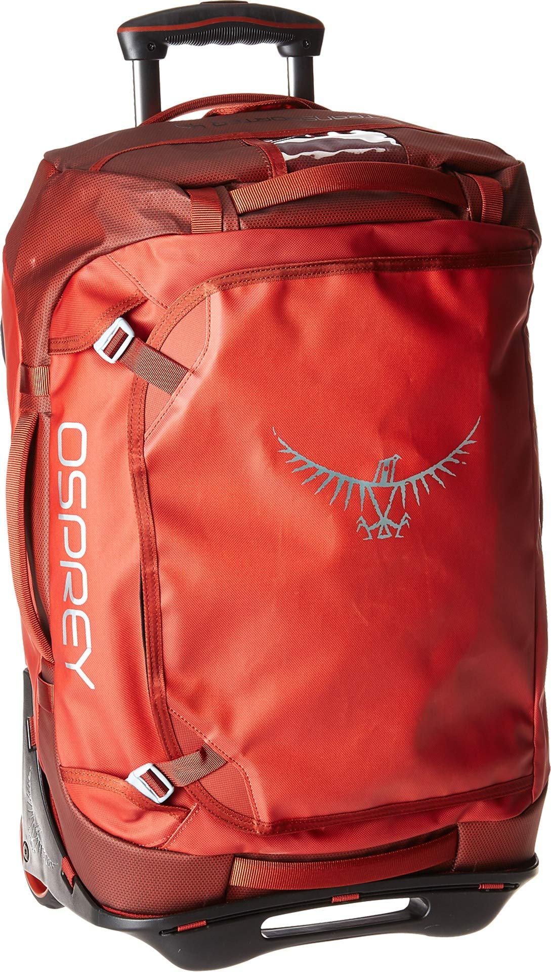 Osprey Packs Rolling Transporter 40 Duffel Bag, Ruffian Red