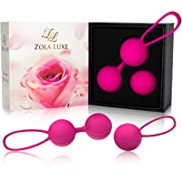Kegel Excercise Weights 3 in 1 Set + TRAINING MANUAL Tightening Balls for Beginners...