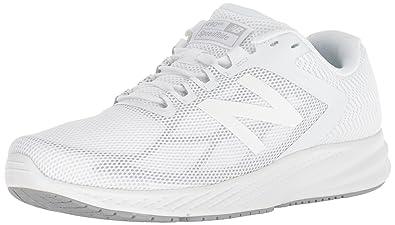00c6b5d5fba7d New Balance Women's 490v6 Cushioning Running Shoe White 9 B US