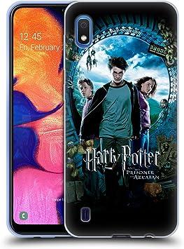 Oficial Harry Potter Ron, Harry & Hermione Poster Prisoner of Azkaban IV Carcasa de Gel de Silicona Compatible con Samsung Galaxy A10 (2019)