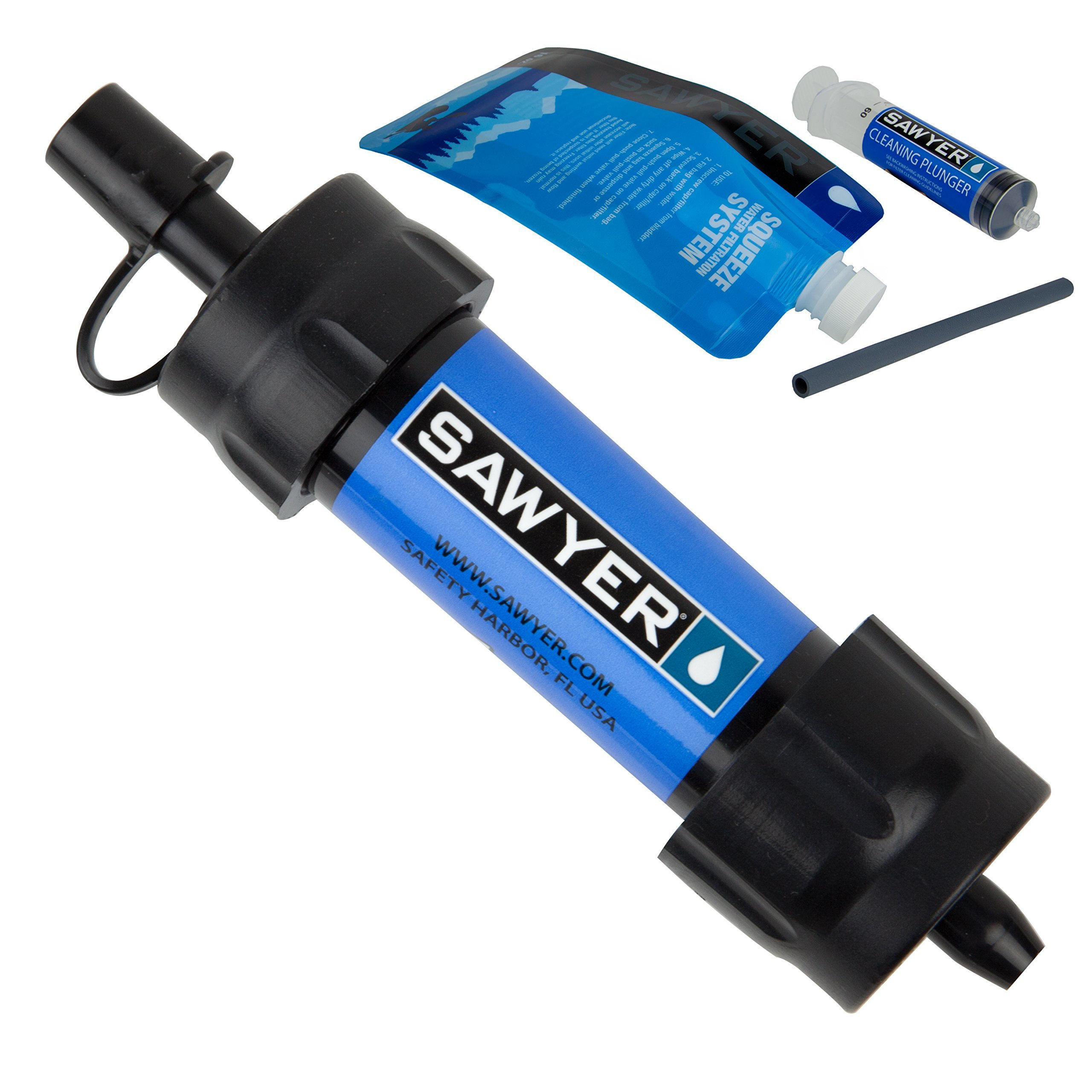 Sawyer Products SP128 Mini Water Filtration System, Single, Blue by Sawyer Products