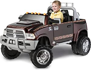 Dodge Ram 3500 Dually Longhorn Edition 12-Volt Battery-Powered Ride-On, Mossy Oak by Kid Trax