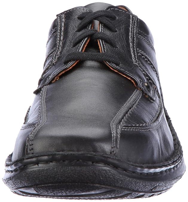 Josef Seibel Schuhfabrik Anvers 08 43360 23 600, Chaussures basses homme - Noir (600 schwarz) - 49