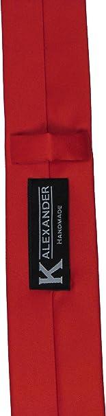 "Necktie /< New /> Matt Coral Red Mens Skinny Polyester Tie 2.5/"" = 6cm Width"