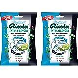 Ricola Cough Drop Extra Strength, Glacier Mint, 19 Drops (Pack of 2)