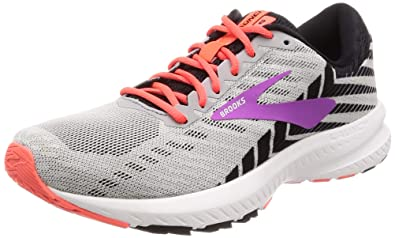 e23062ec9e9 Brooks Women s Launch 6 Grey Black Purple 5 B US