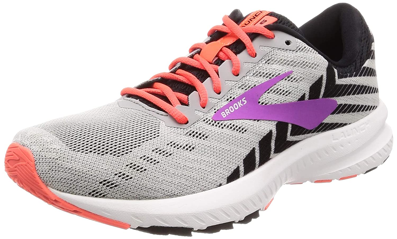 gris (gris noir violet 027) Brooks Launch Launch Launch 6, Chaussures de FonctionneHommest Femme f73