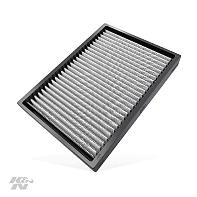 K&N Premium Cabin Air Filter: High Performance, Washable, Lasts for the Life of your Vehicle: Designed For Select 2011-2020 Dodge/Chrysler (Challenger, Charger, 300, 300C) Vehicle Models, VF2027: Automotive