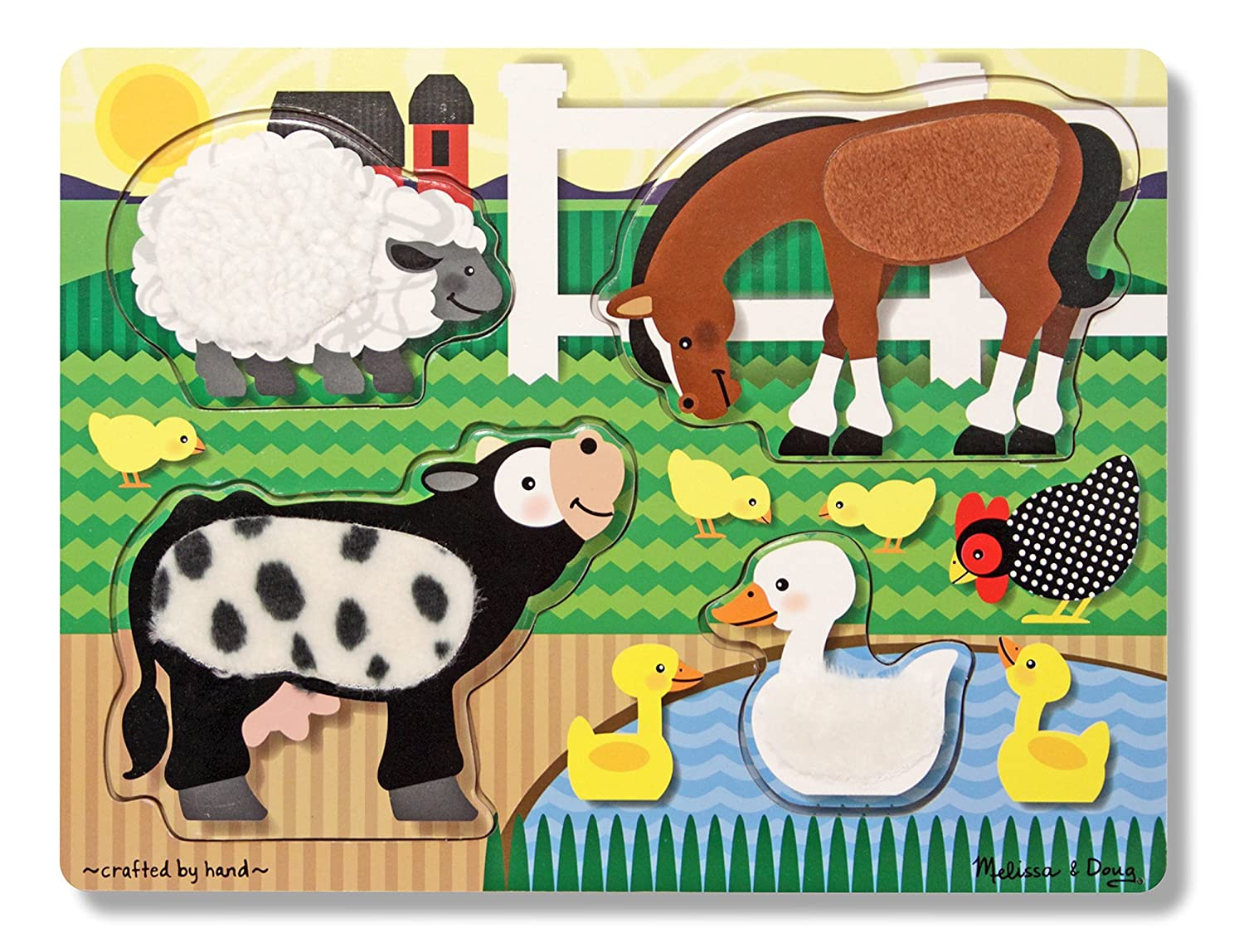 farm puzzle best toys for 1 year old girls