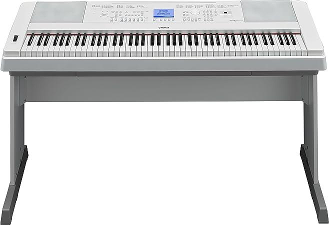 Piano digital Yamaha DGX-660WH de 88 teclas: Amazon.es ...