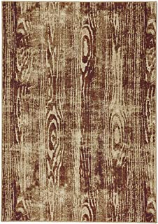 """product image for Capel Thicket Golden 5' 3"""" x 7' 6"""" Rectangle Machine Woven Rug"""