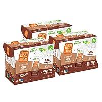 Good Karma Plant-Powered Flaxmilk, Chocolate, 6.75 oz. Lunchbox Carton (Pack of...