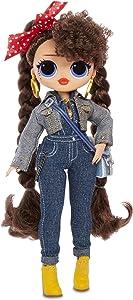 L.O.L. Surprise! O.M.G. Busy B.B. Fashion Doll with 20 Surprises,Multicolor