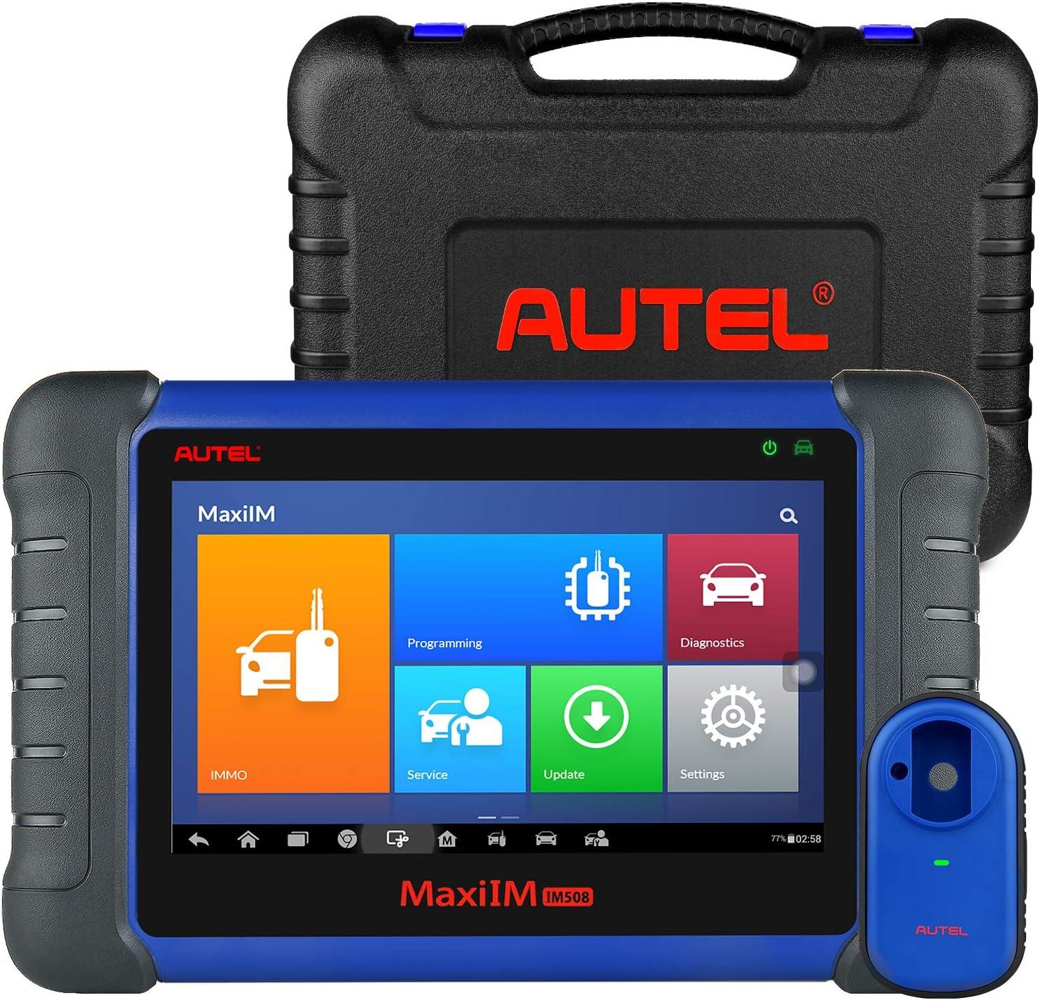 Autel Maxiim Im508 Schlüssel Programmierer Obd2 Diagnosegerät Auto Scanner Mit Xp200 Key Programmer Erweiterter Immo Programmier Obd2 Scanner Öl Reset Sas Epb Dpf Bms Navigation