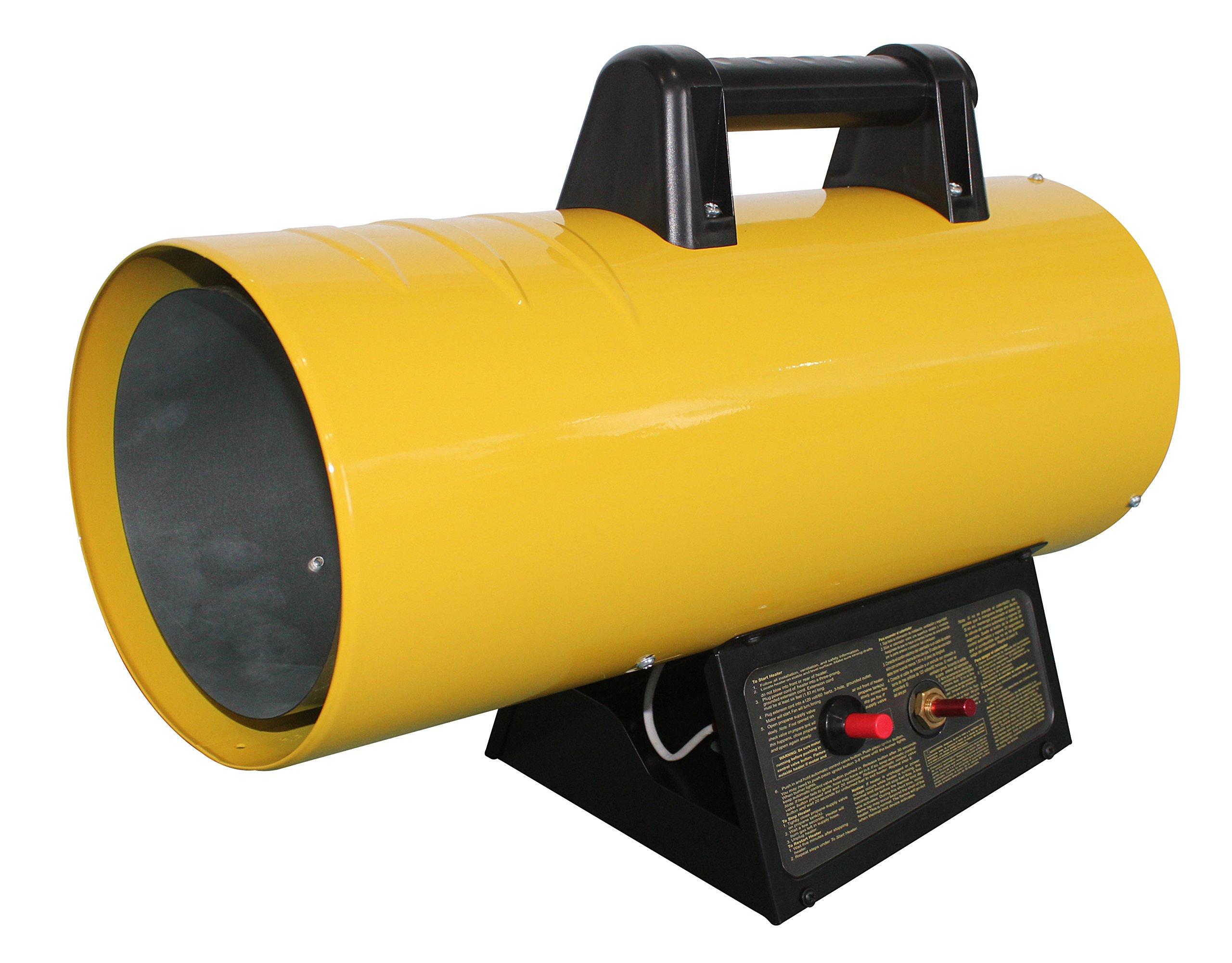 AZ Patio HIL-SHOP-LP40 40000 Btu Propane Forced Air Shop Heater